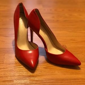 NEW Red side cut out Pump stiletto
